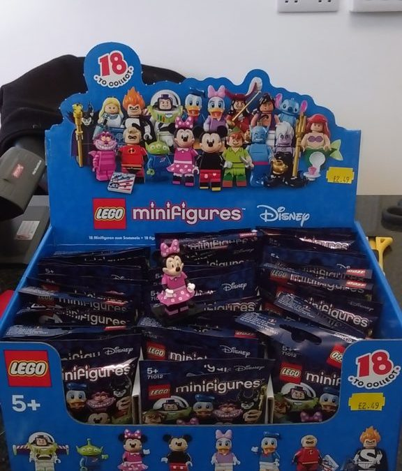 Lego Disney Minifigures New In