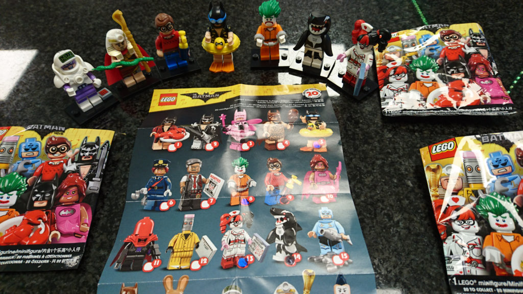 Batman Minifigures – Progress