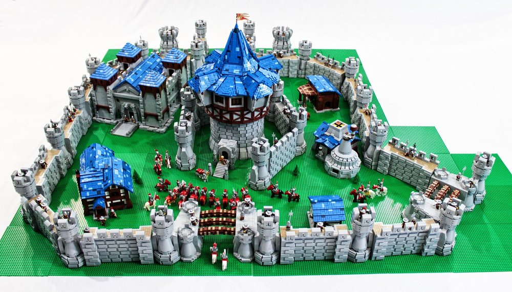 WORLD OF WARCRAFT's Theramore Isle in Lego