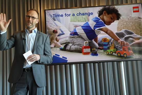 Lego CEO Sees Possible for Brand Name in Digital Products