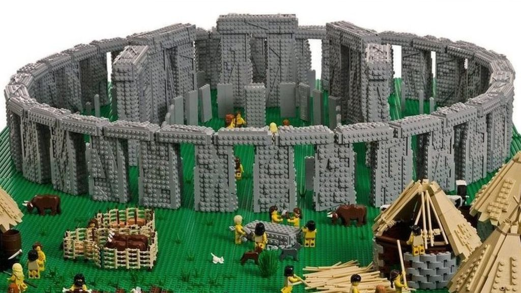 Lego wonders: World-famous sites rebuilt – BBC News